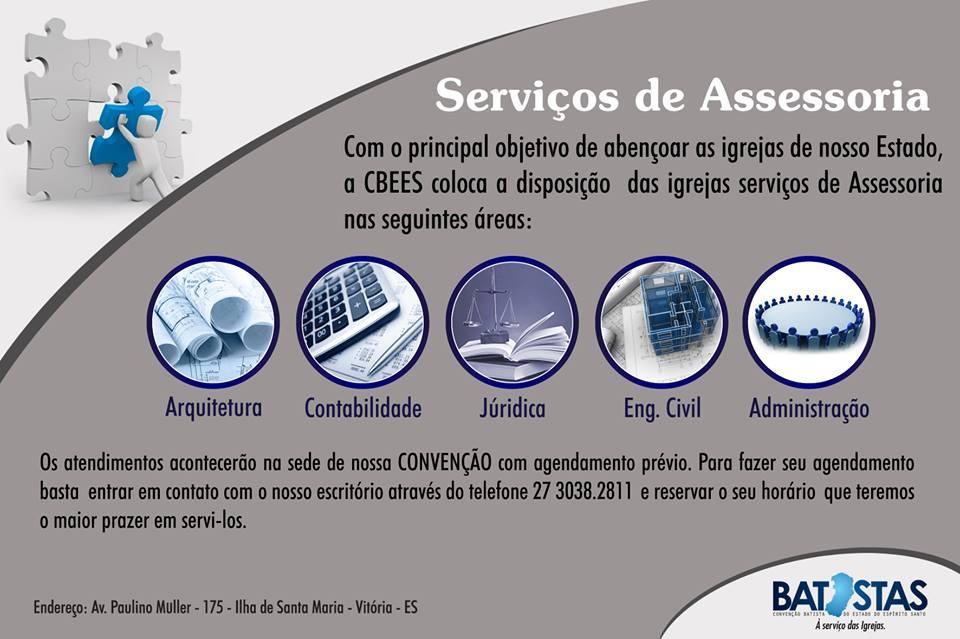 ASSESSORIA DAS IGREJAS BATISTAS DO E.S.